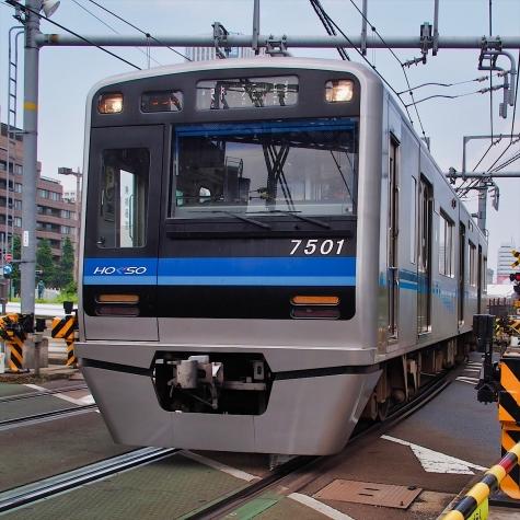 北総鉄道7500形電車【八ツ山橋付近】