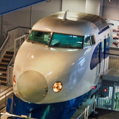 0系 新幹線電車(カットモデル) 【鉄道博物館】