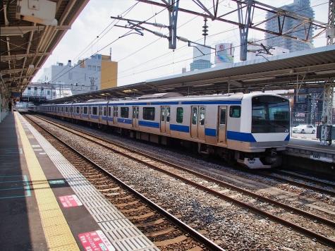 JR常磐線 E531系 電車【土浦駅】