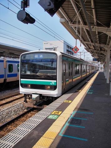 JR常磐線 E501系 電車【土浦駅】