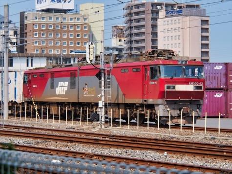 JR貨物 電気機関車 EH500-13【土浦駅】