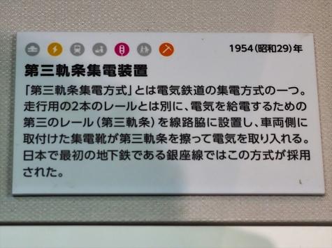 第三軌条集電装置【鉄道博物館】