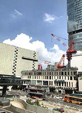 2021915渋谷駅前再開発2