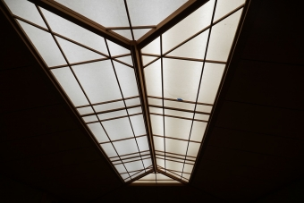 天井の障子1