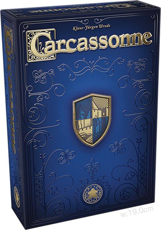 カルカソンヌ20周年記念版:箱