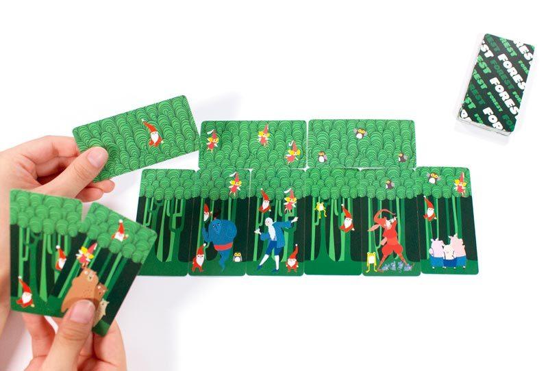 フォレスト:カード配置