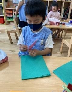 きりん組 縫いさし (2)