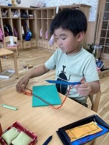 きりん組 縫いさし (1)