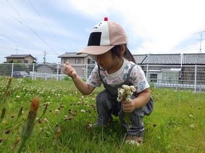 うさぎ組 第二園庭①