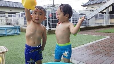 りす組 水遊び2