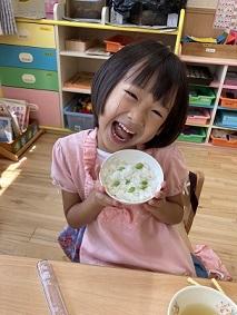 きりん組 枝豆収穫 (1)