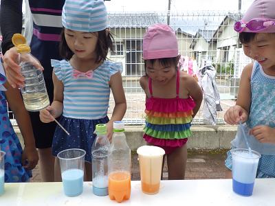 色水実験②