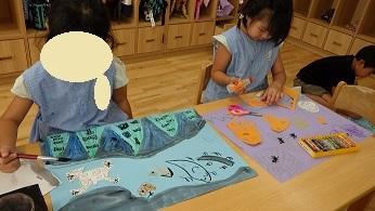 きりん組 ハロウィンの絵 (3)