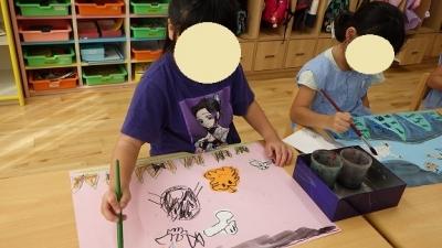 きりん組 ハロウィンの絵 (4)