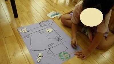 きりん組 ハロウィンの絵 (2)