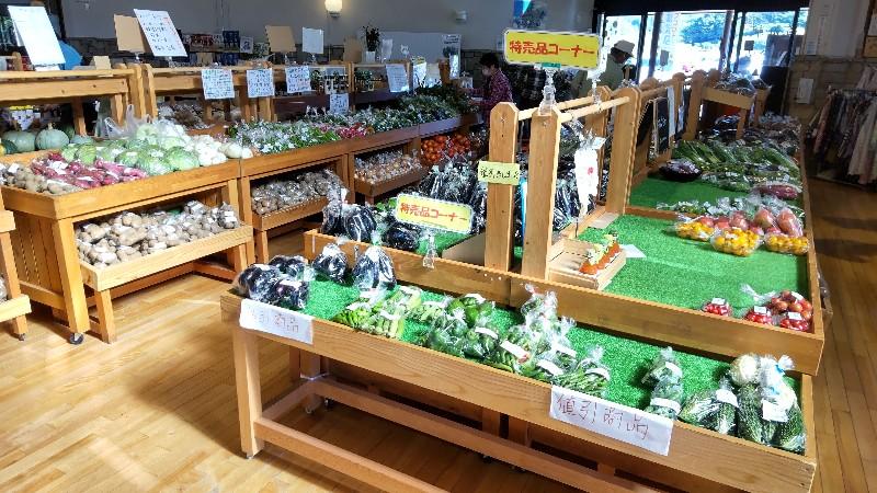 道の駅中山盆地新鮮野菜2109