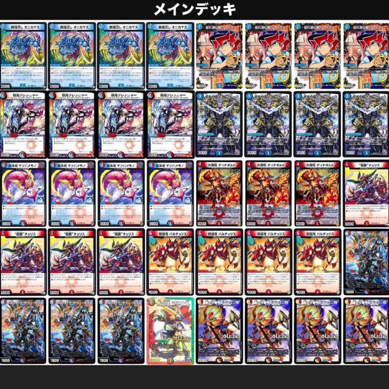 2位:青赤ドギラゴン閃@Konoさん