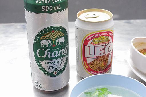 チャーンビールとレオビール