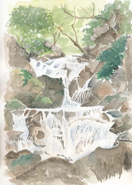 s-小さな滝