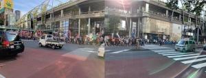 五輪反対デモ