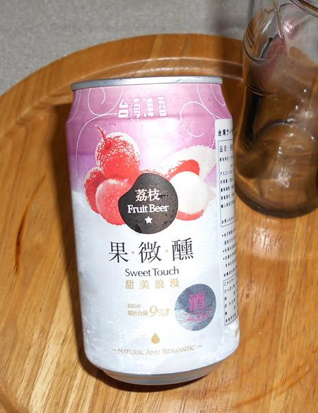 台湾のフルーツビールを飲んでみる