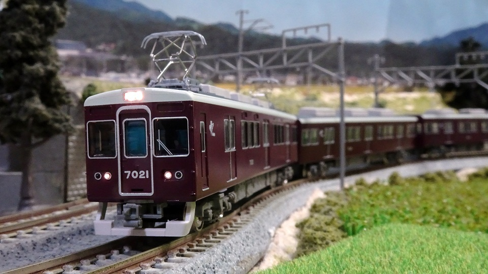 阪急7000系 7021編成