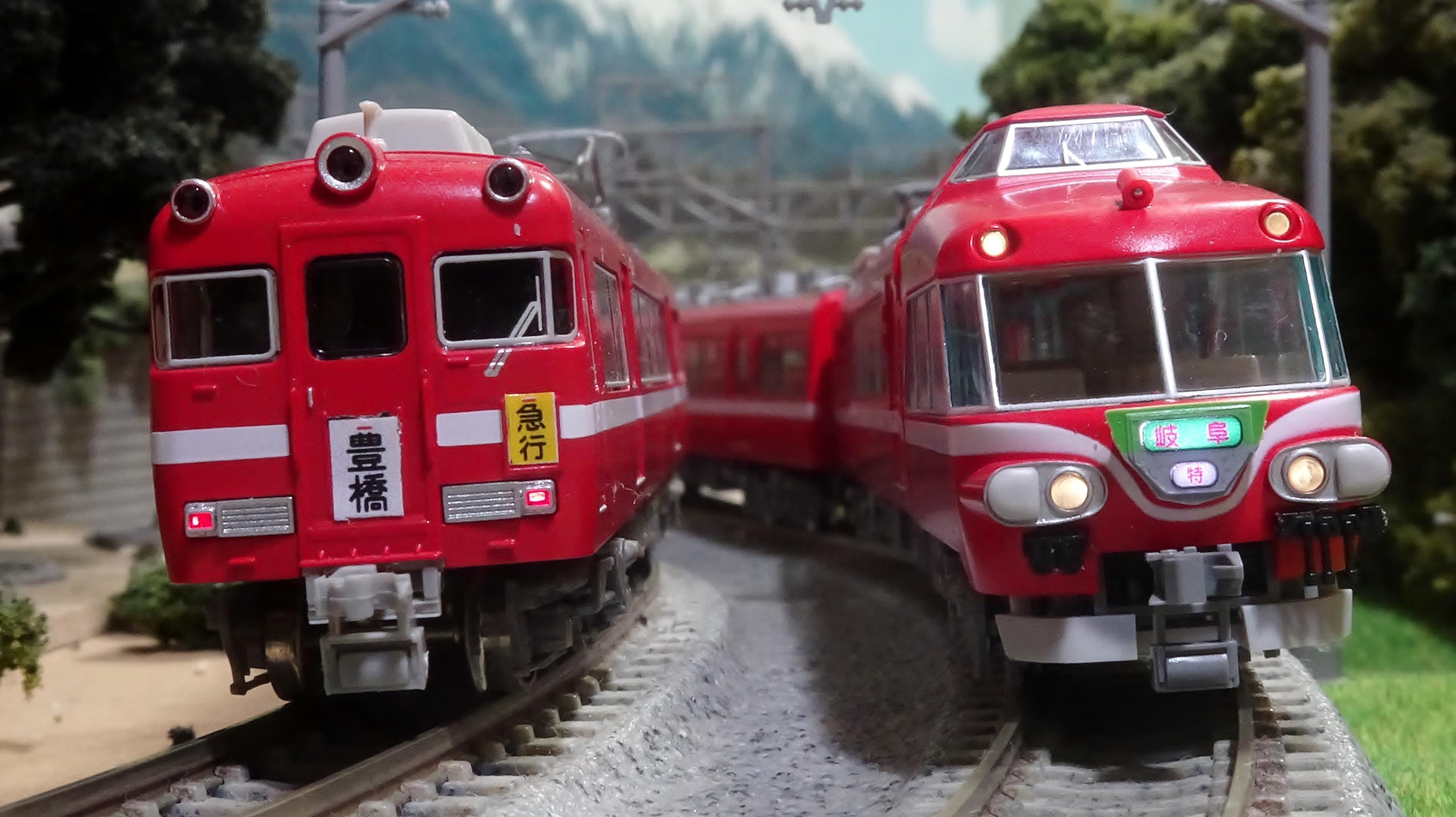 名鉄7000系パノラマカー 白帯車