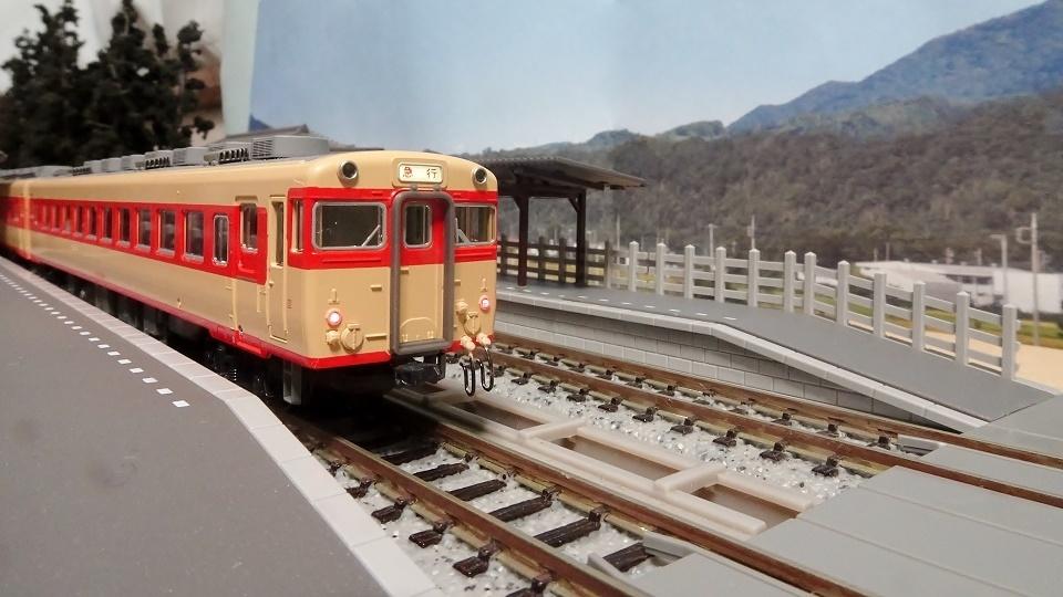 ローカル線の小形駅舎