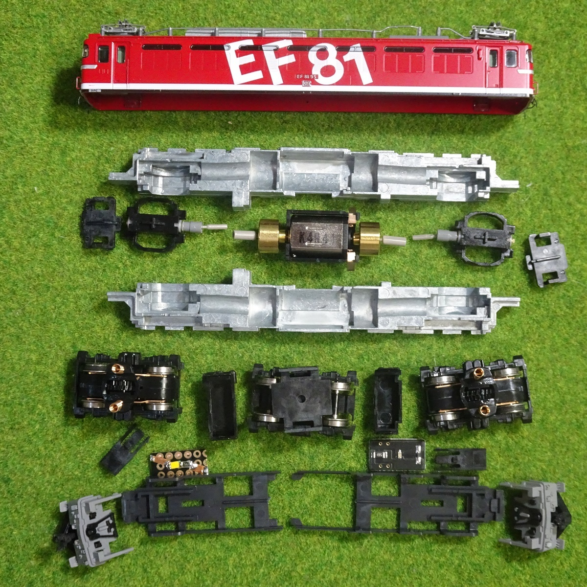 M13モーターへの交換