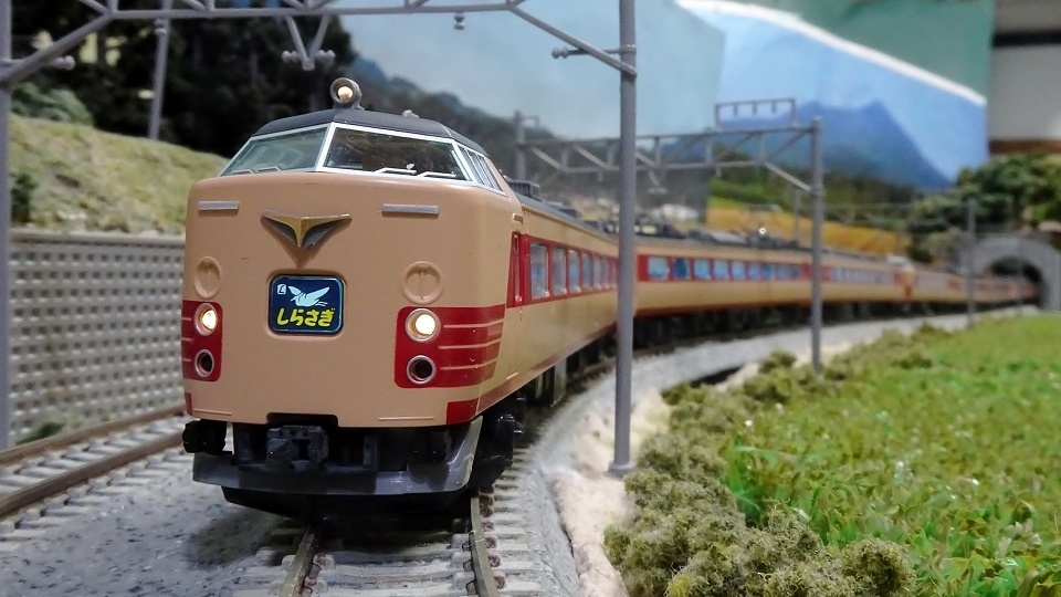 JR485系 特急「しらさぎ」国鉄色