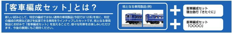 客車編成セット