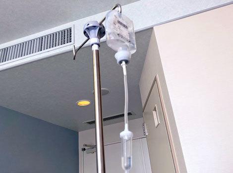 コロナ陽性 緊急入院