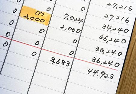 家計簿 固定費 通信費