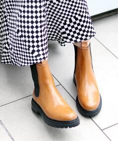 ブーツ キャメル